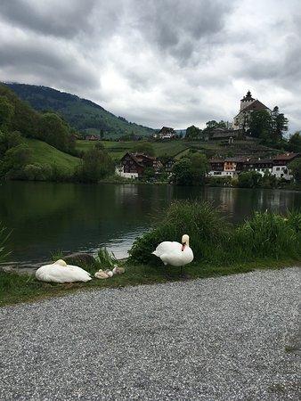 Werdenberg (Suisse) Le plus charmant des petits villages.
