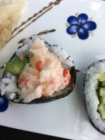 California Roll Billede Af Sushi Station Kobenhavn Tripadvisor The metro station at street level is the western terminus of lines m1 and m2. tripadvisor