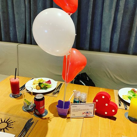 Base Steakhouse: Mesa aniversário!