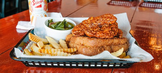 We've said it once and we'll say it again. Nashville has some of the world's best Hot Chicken. Taste the heat at visitmusiccity.com/things-to-do/food-drink/hot-chicken