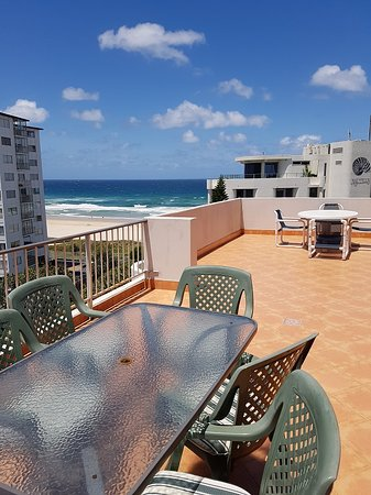 Unit 23 - Private and huge top floor balcony