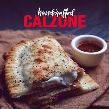 An insight of our handcrafted Calzones