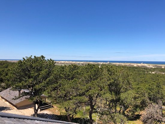 Province Lands Visitor Center: View from the observation deck