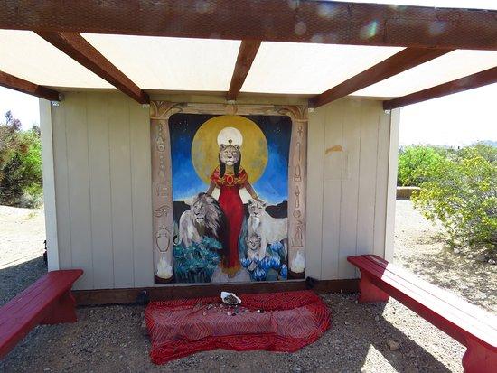 Indian Springs, เนวาด้า: A prayer spot