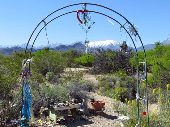 Indian Springs, NV: The Fairy garden