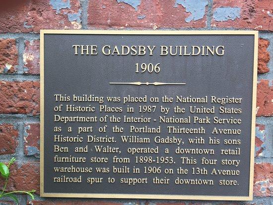 It's historic building