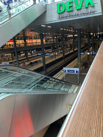 Berlin Central Station: Down To Tracks