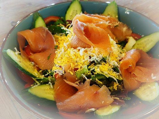 Smoked Salmon Salad!!!!