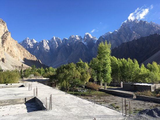 Pasu, باكستان: Passu Cones from the Shisper View Hotel and on nearby hikes.