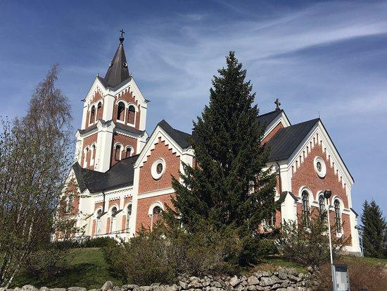 Iglesia de Lumijoki. Biblioteca municipal