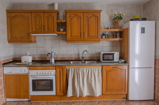 Ibero, إسبانيا: Cocina totalmente equipada