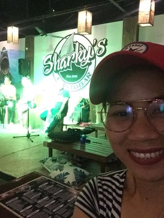 Good food with good people ❤️  Thank you Sharky's Resto Bar 👍