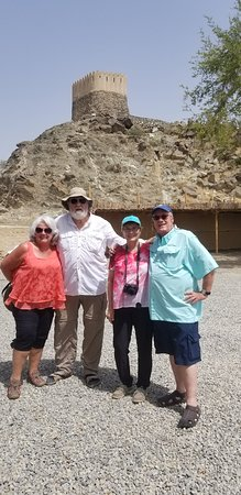 Al Bidya Mosque: Fujairah tour with guest from USA from fujairah cruise terminal