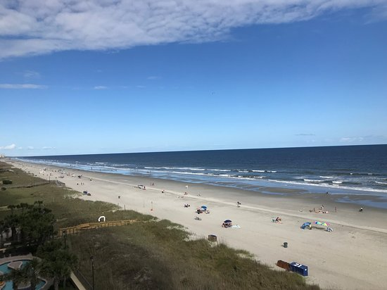 View from condo suite balcony