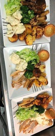 Sunday Roast available every Sunday 12-5