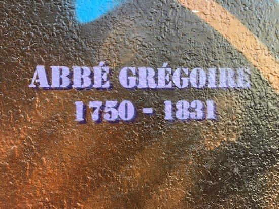 Fresque L'Abbe Gregoire