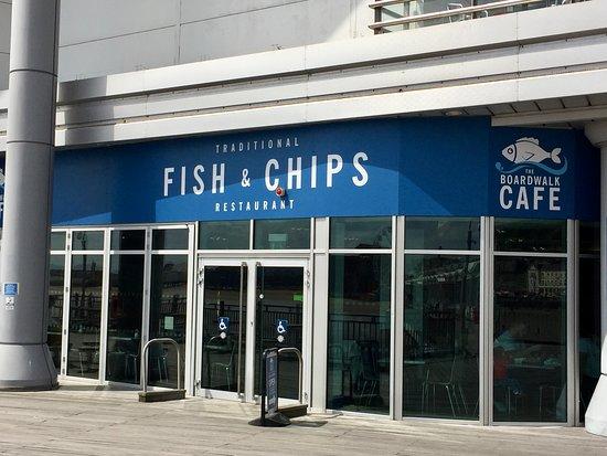 Grand Pier: Fish and chip restuarnat