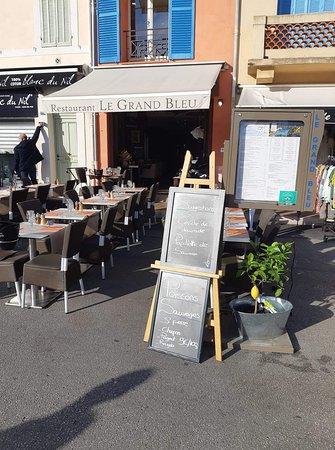 Restaurant Le Grand Bleu Cassis