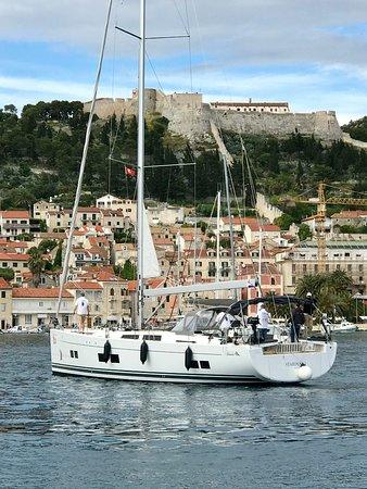 Split Sea Tours: Hvar harbour