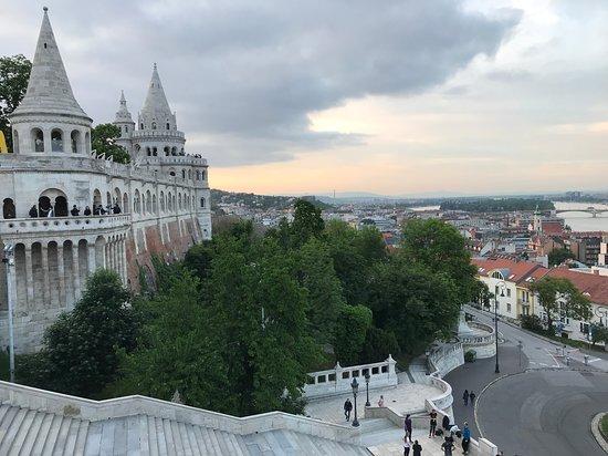 Karta Over Budapest Sevardheter.Halaszbastya Restaurant Budapest Omdomen Om Restauranger