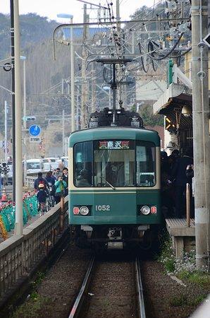 鎌倉高校前站(往藤澤方向列車)