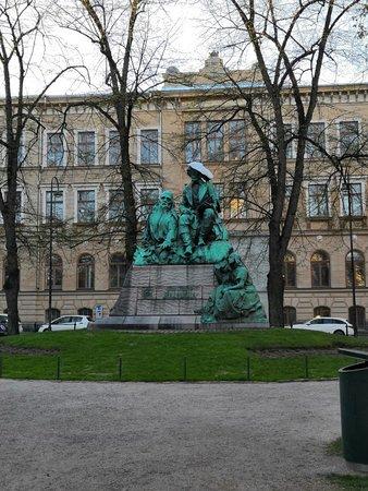 Elias Lonnrot Monument: 風景