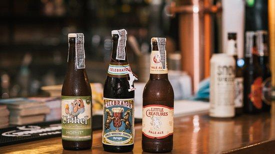 The Beer Bridge: Urthel Hop, Ayinger Celebrator & Little Creature beers