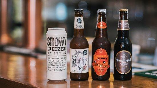 The Beer Bridge: Local & imported craft beers