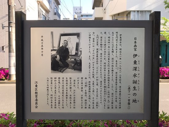 Ito Shinsui's Birthplace