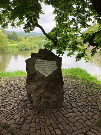 Hannoversch Münden, Almanya: Weserstein