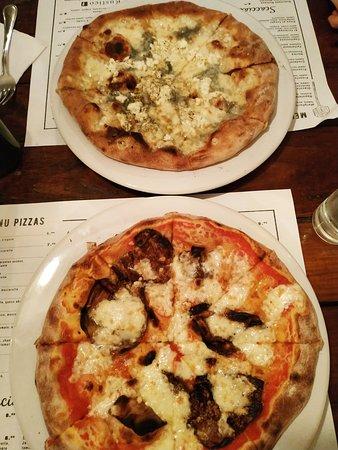 Pizzas riquísimas