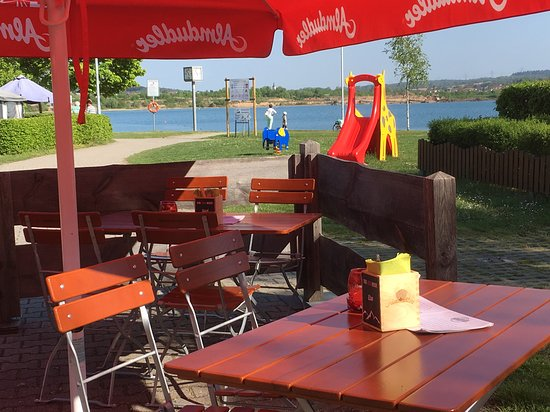 Ubstadt-Weiher, Niemcy: Super Burger am See