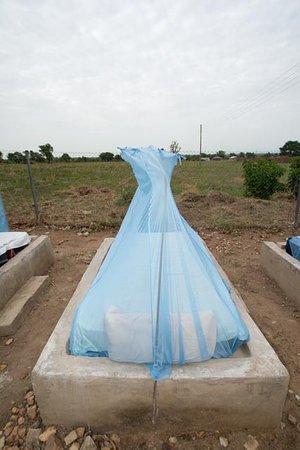 Wa, Гана: sleeping platform