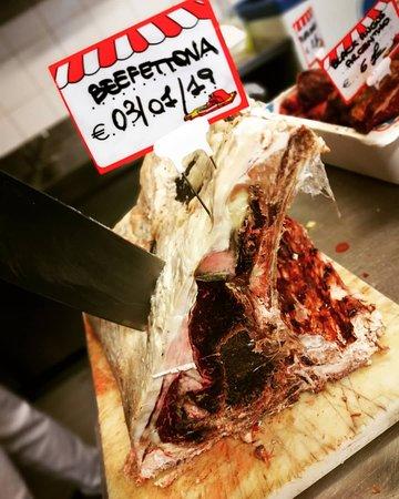 Pronti per il taglio😱😱😱 Costata BEEFFETTONA ❤️ Frollata 135 giorni👍 La carne si scioglie in bocca😋😋😋😋 #THEBESTBEEF