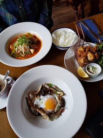 Food - Fishkey Micro Brewery & Restaurant at The Woodlark Inn Photo