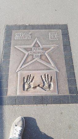 Hilton Garden Inn Krakow Airport: Impronte mani di Vip