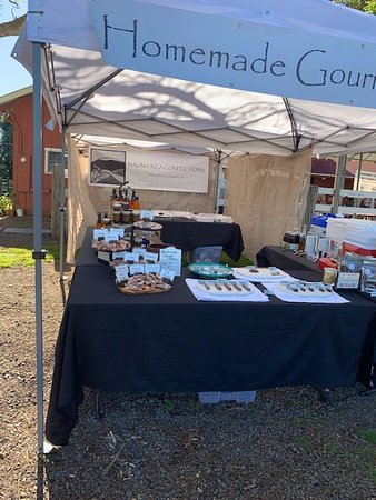 Waimea, HI: Our saturday booth.  if you can't find us just ask around.  Sometimes we move due to weather.