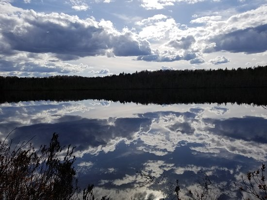 Paul Smiths, NY: Osgood pond from our front door