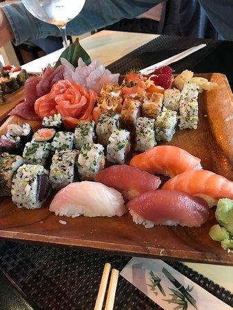 Miyabi Sushi by Rodrigo Mattos: combinação maravilhosa feita pelo Rodrigo.