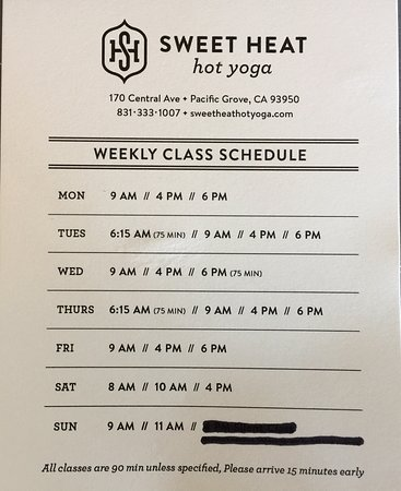 Sweet Heat Hot Yoga Pacific Grove 2020 All You Need To Know Before You Go With Photos Tripadvisor