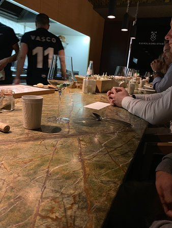 Euskalduna Studio: Chef's table
