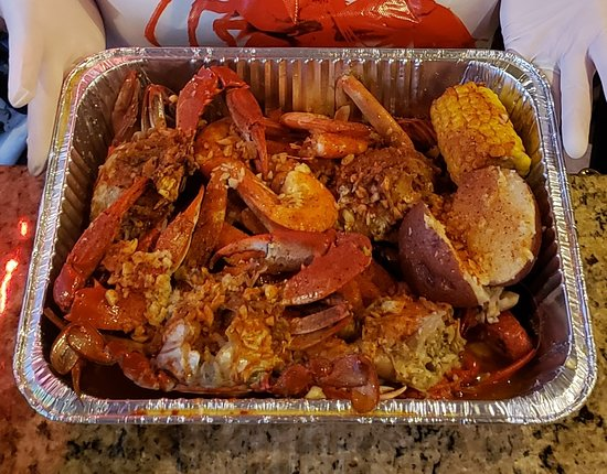Blue Crabs Butter Garlic - Picture of LA. Boiling Seafood ...