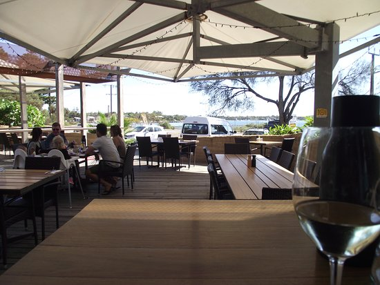 1802 Oyster Bar & Bistro: View from outdoor area