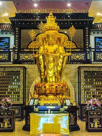 Statue of Khitsagharba Buddha, Buddhist temple Cabramatta