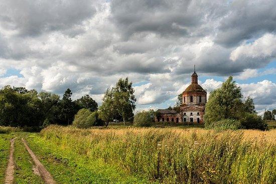 Route de Moscou à Saint-Pétersbourg