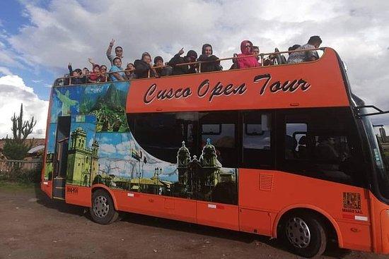 Åpne Bus Cusco City Tour