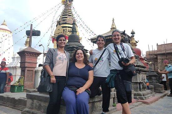 Hela dagen Kathmandu-Bhaktapur ...