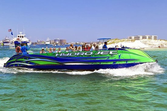 Largest Jet Ski boat ride, Dolphin...
