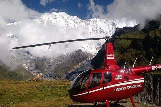 Helikoptertur til Annapurna Base Camp...