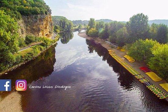 La vallée de la Dordogne en canoë